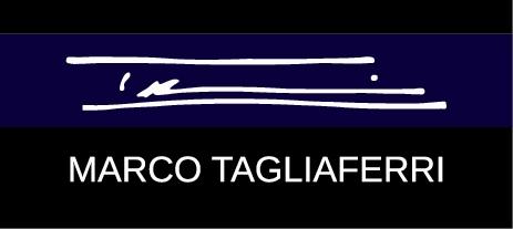 MARCO TAGLIAFERRI. ロゴ